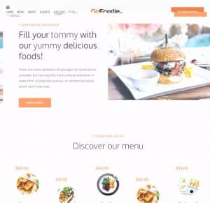 GoFoodie – A premium template kits for Elementor