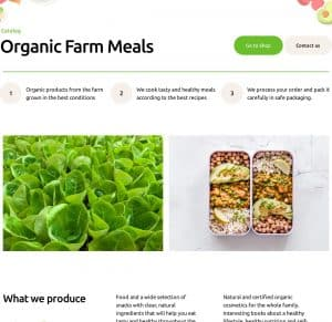Home 1 – ORFA – Organic Farm Products Elementor Template Kit