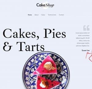 Home - Cake Shop